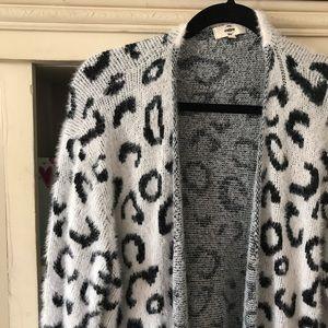 Entro leopard cardigan